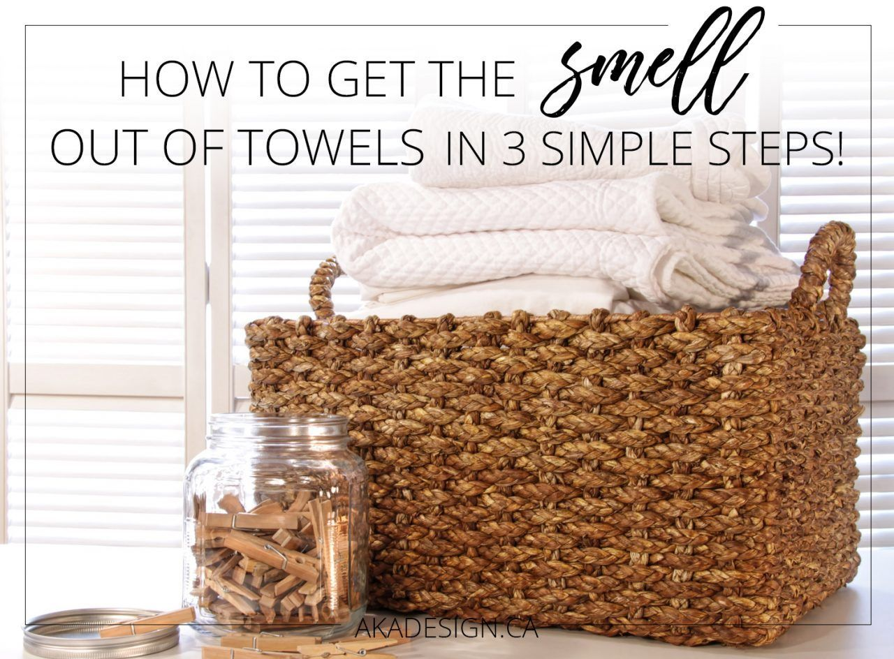 How to Get the Smell Out of Towels in 3 Easy Steps