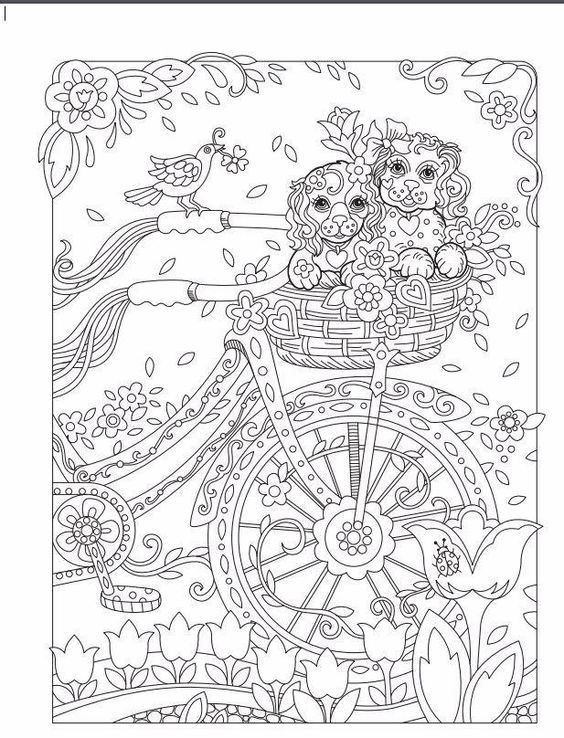 Pin by Shelley Miller on Coloring Pages Pinterest Adult coloring - new animal coloring pages with patterns