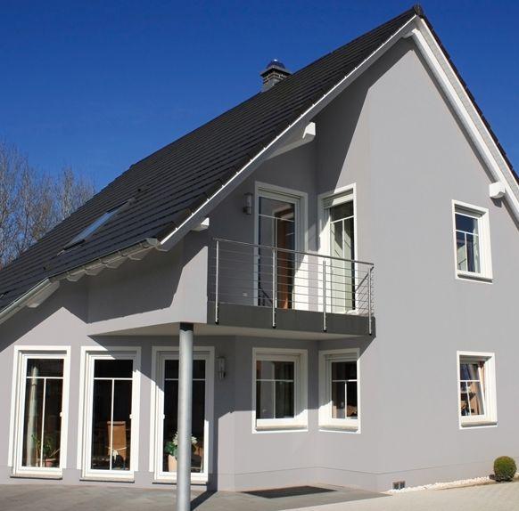Fassadenfarbe Grau farbe warmes grau das graue haus gardens and house