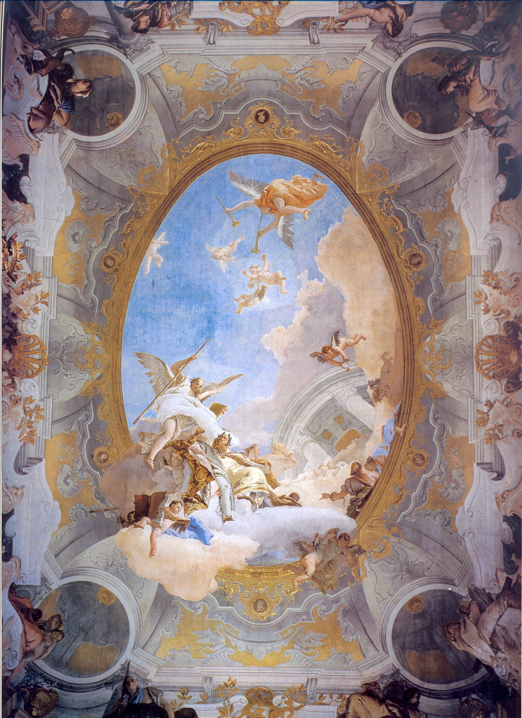 Painting by giovanni tiepolo pintura pinterest paintings painting by giovanni tiepolo rococo paintingceiling paintingbaroque dailygadgetfo Image collections