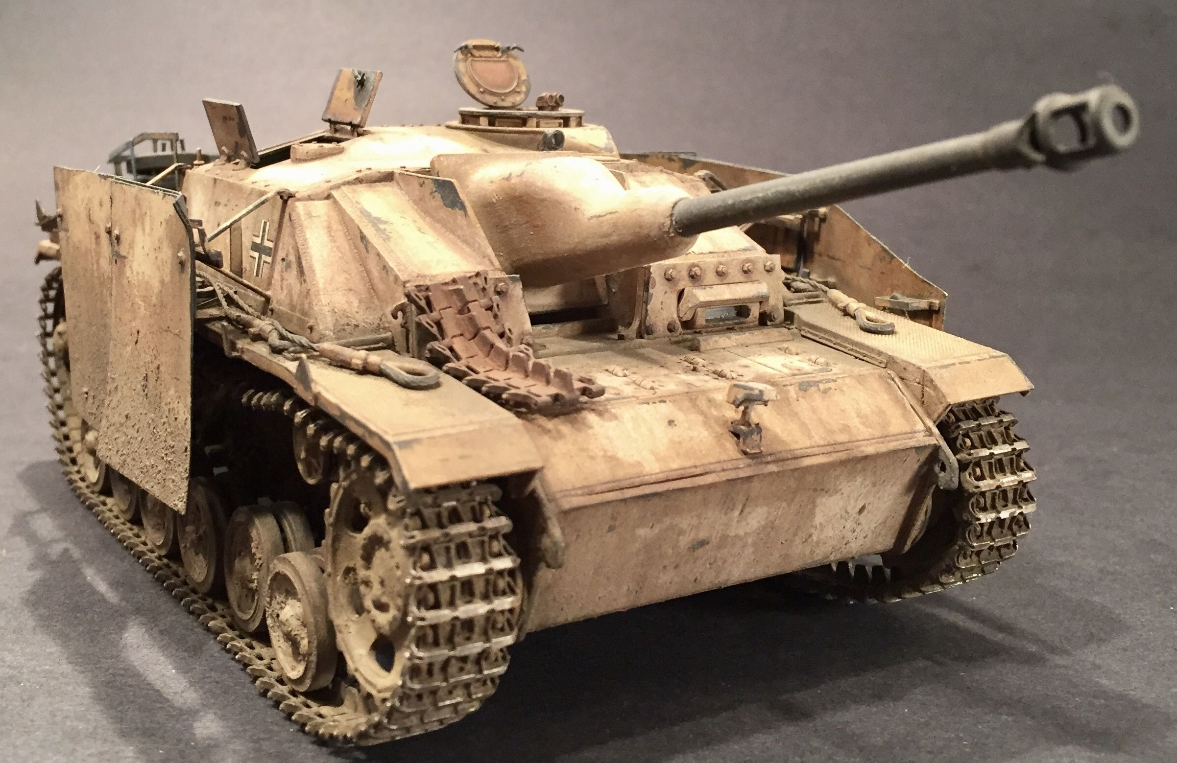 Stug III #Ausf G May 1944 Mid-Late Production  1/35 Scale