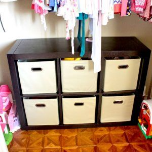Attrayant Storage Bins For Closet Shelves