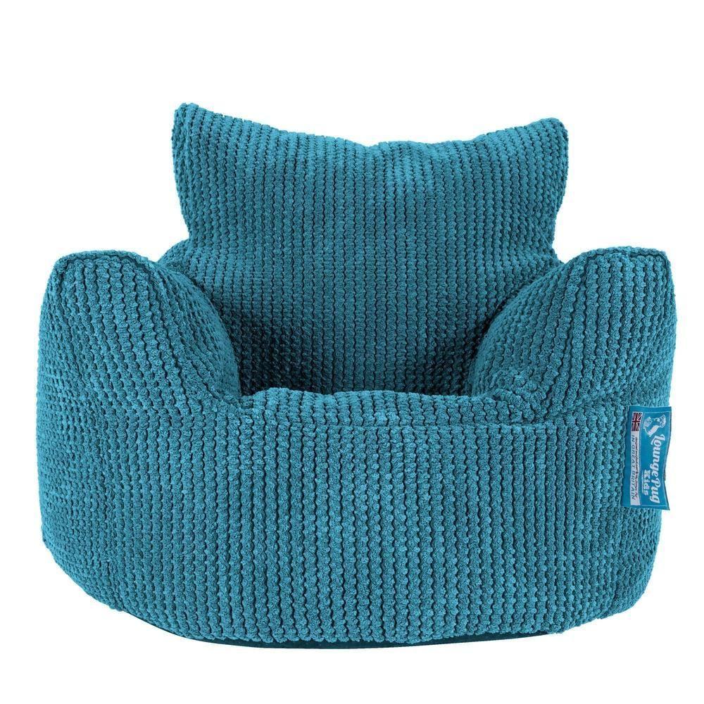 Kleinkindsessel Sitzsack 1 3 Jahren Pom Pom Turkis Kinder Sessel Sitzsack Kinder Kindersessel