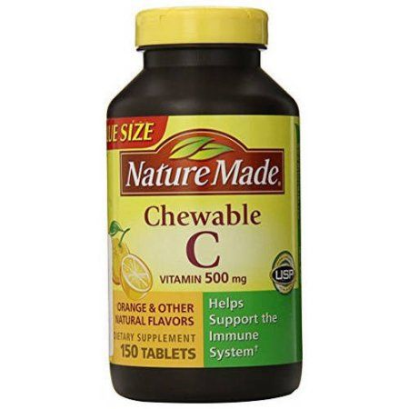 Nature Made Chewable Vitamin C 500mg 150 Ct Pack Of 3