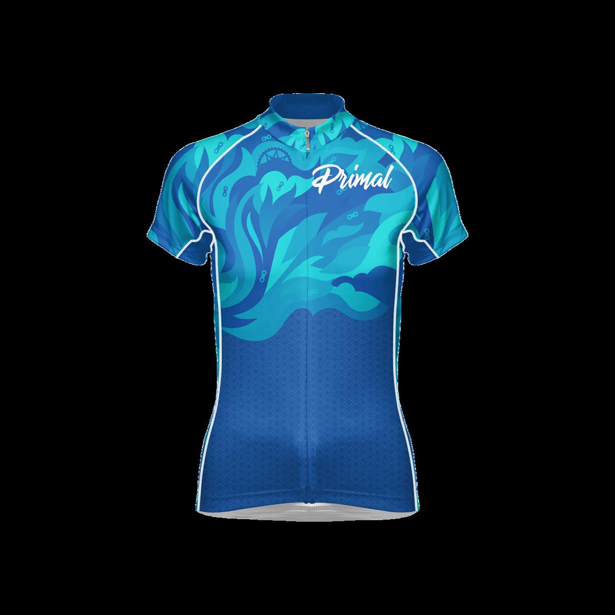 Fierce Women's Blue Flame Evo Cycling Jersey