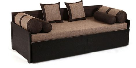 An exemplary looking sofa cum bed that offers maximum seating