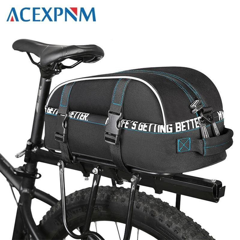 8 L Bicycle Pannier Bag Multifunctional Waterproof Storage Bag Rear Shelf Bag