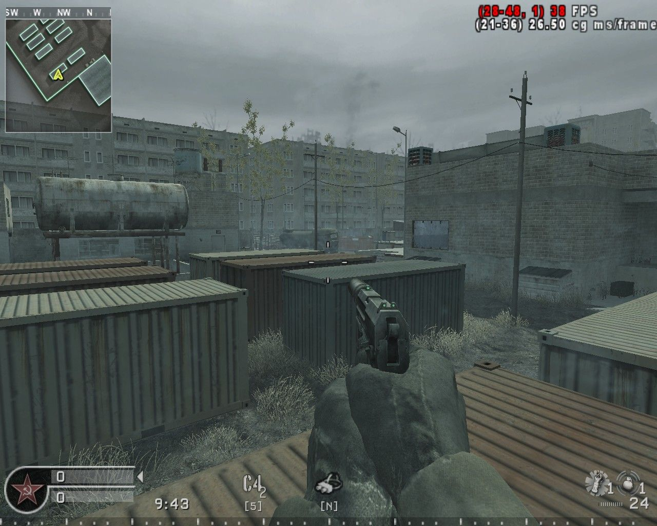 Vacant is a small multiplayer map available in Call of Duty 4 ... on