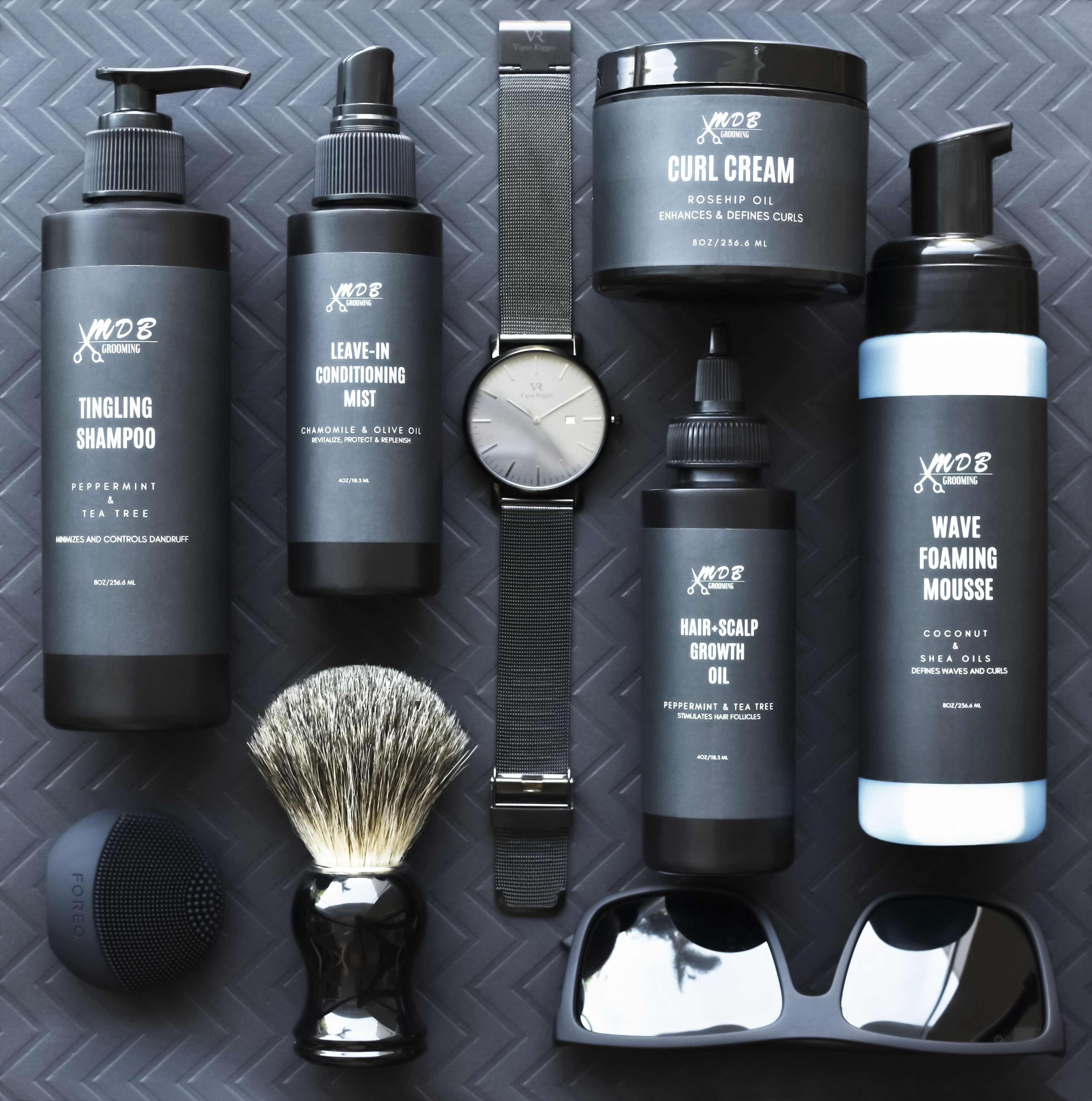 Mdbgrooming Men Grooming Product Including Shampoo Leave In