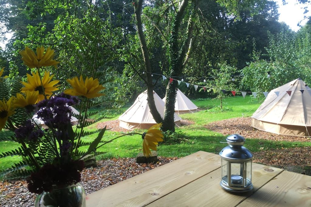 Tent In Tisbury United Kingdom Pythouse Kitchen Garden Is An 18th