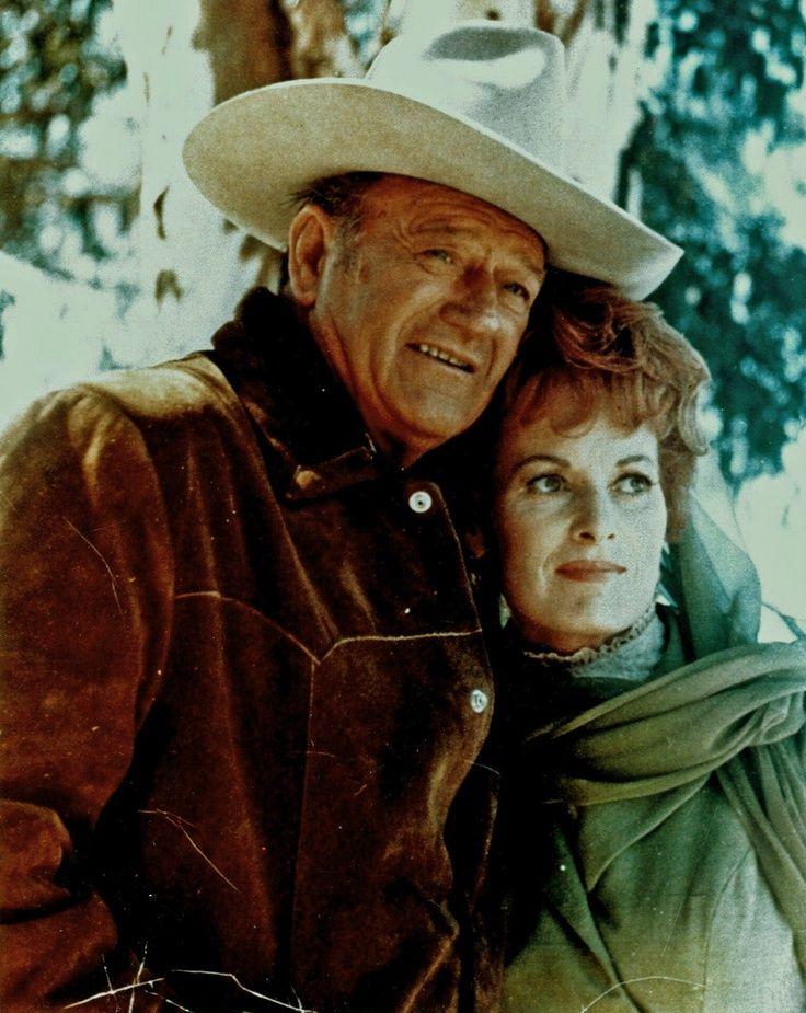 John Wayne Maureen O' Hara Big Jake (1971) Movie stars