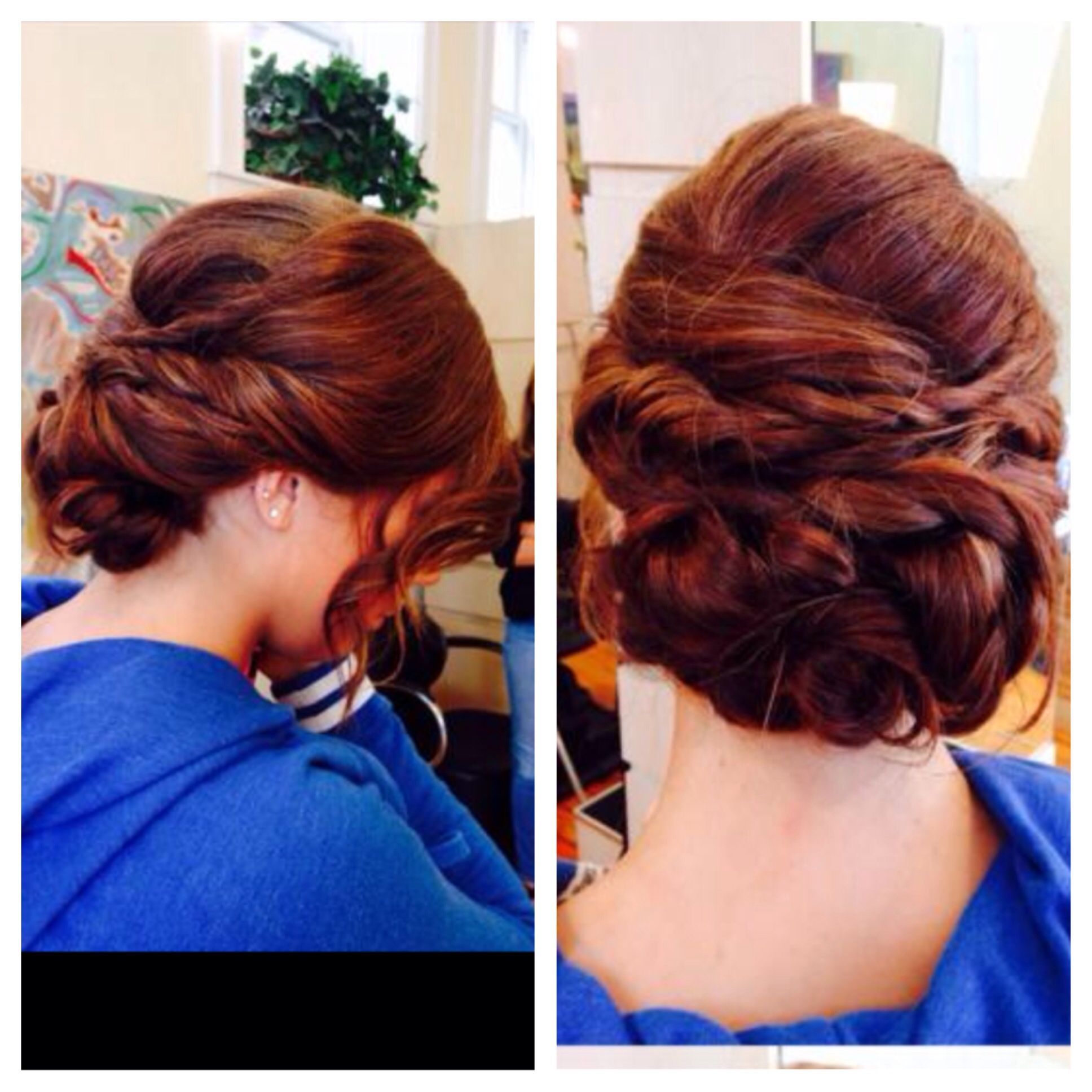 Prom Hairstyles For Thick Hair Updo For Long Thick Hair Dances Special Occasion Pinterest