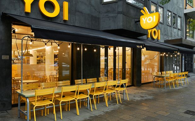 Le restaurant Yoi Stockholm | Stockholm, Restaurants and Small spaces
