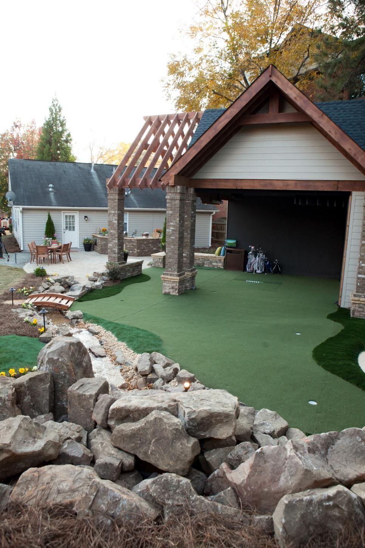 Golf Lover S Dream Golf Simulator Room Golf Room Golf Watch