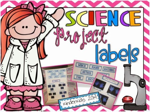 printable science fair labels