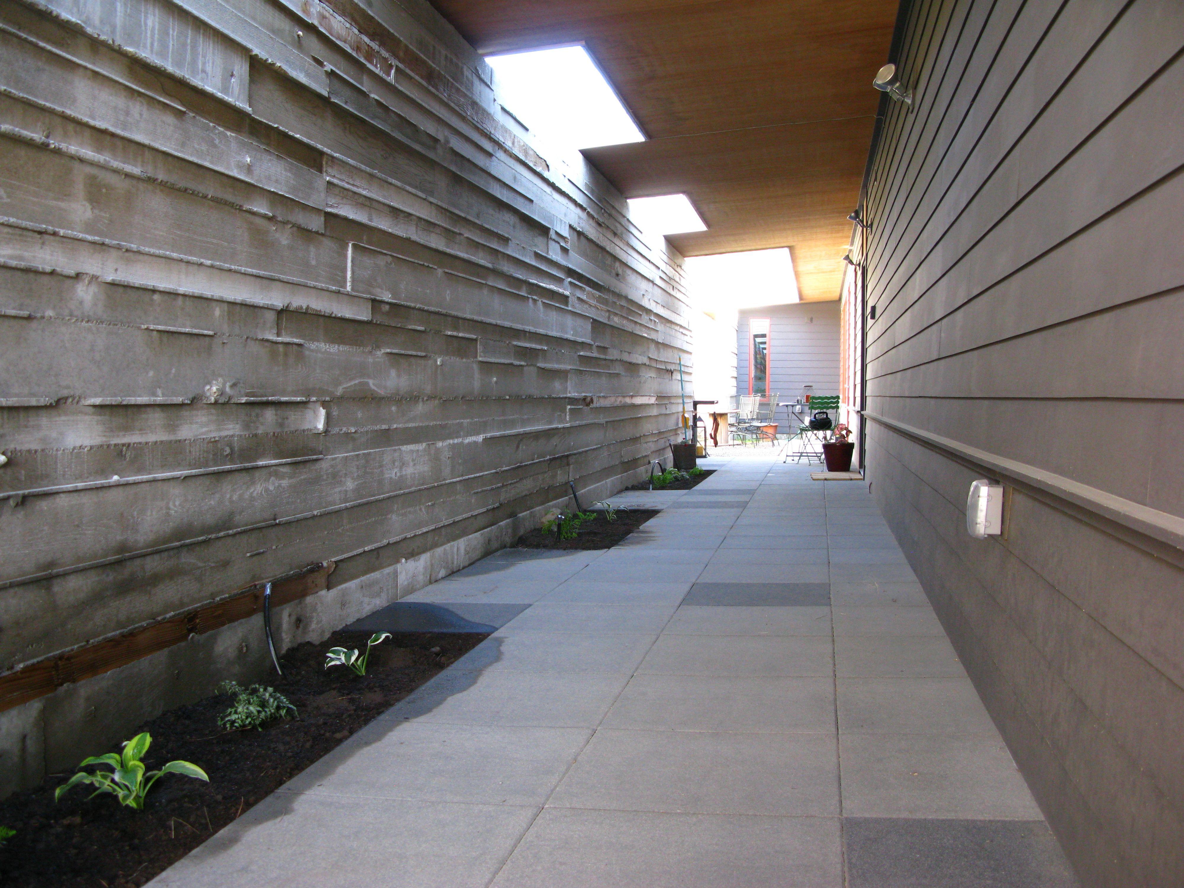 Medium Of Board Formed Concrete