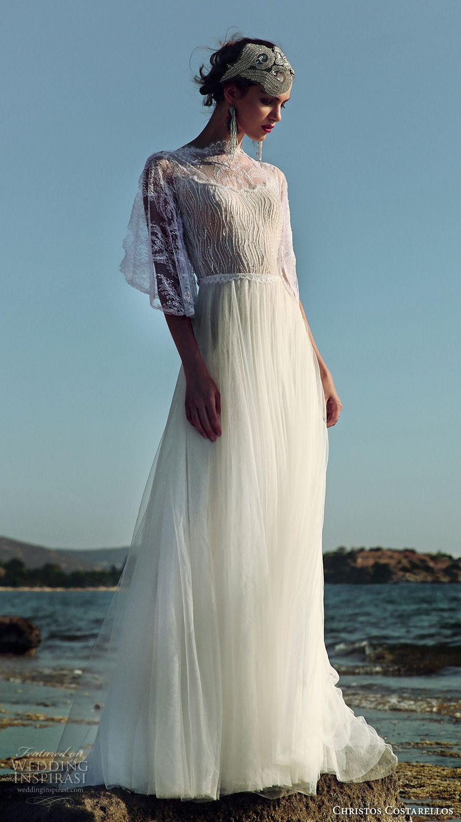 Christos Costarellos 2017 Wedding Dresses | Vestidos de novia, De ...