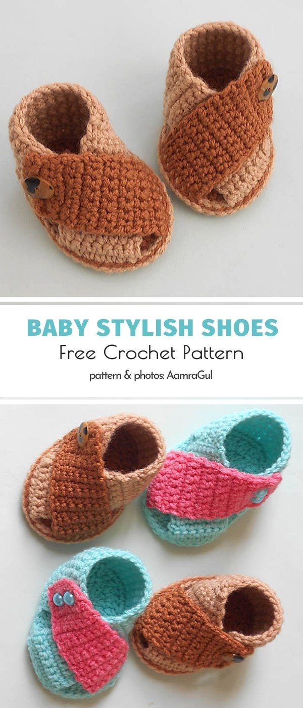 Photo of Baby Stylish Shoes Free Crochet Pattern – Warme Tage kommen und lange Spaziergänge in …