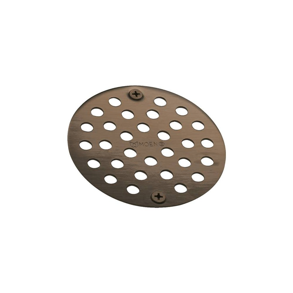 Moen 102763 4 Round Shower Drain Cover Oil Rubbed Bronze In