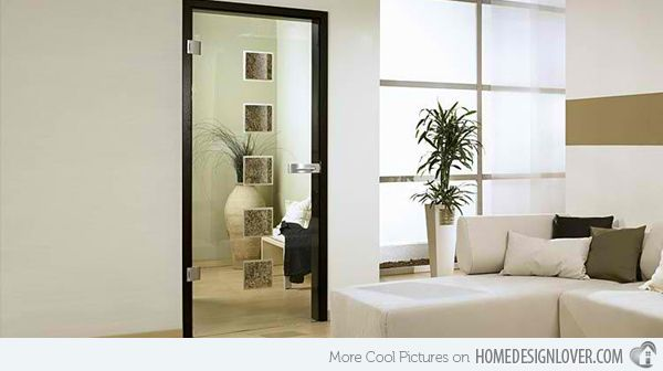 Glass Door Designs For Living Room Unique 15 Modern Interior Glass Door Designs For Inspiration  Interior Inspiration