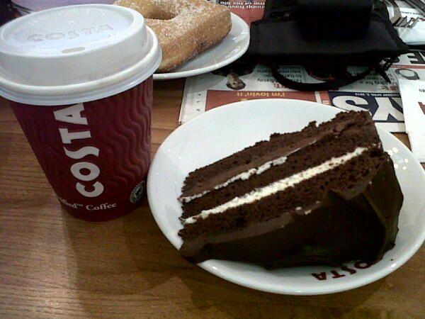 Rich Chocolate Cake Costa Rich Chocolate Cake Food Costa Coffee