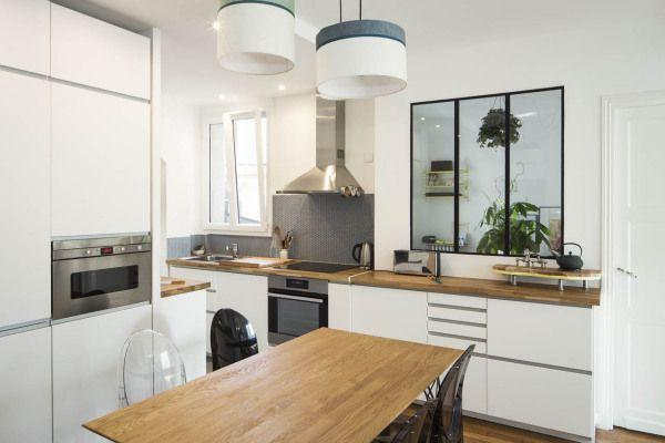 Appartement décloisonné, le choix d\u0027une cuisine ouverte Kitchens