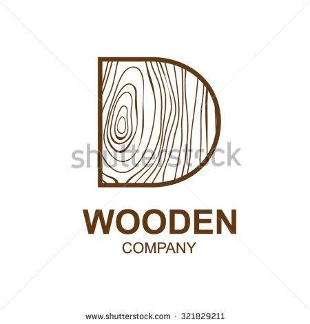 Wood Logo Stockfotos Afbeeldingen Plaatjes