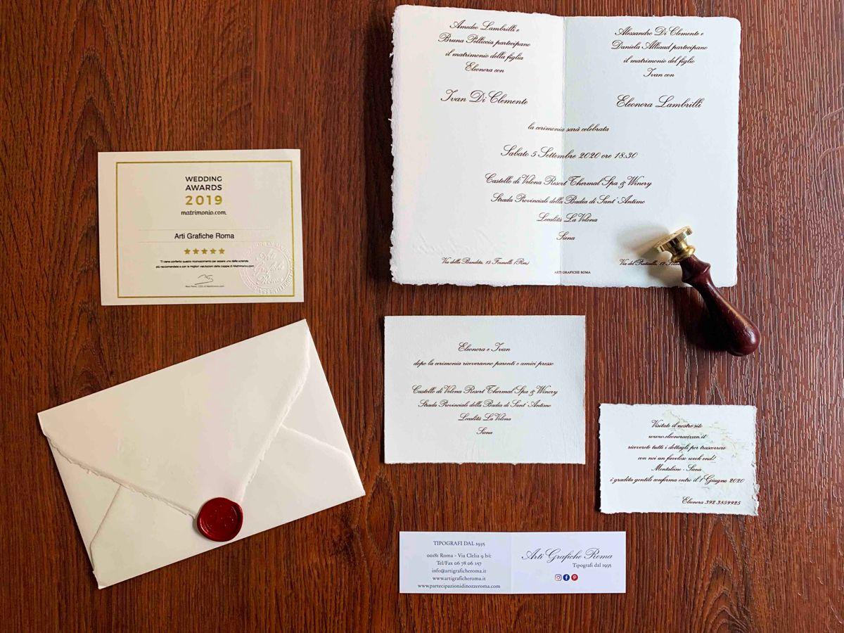 Partecipazioni Di Matrimonio In Carta Amalfi Nel 2020 Partecipazioni Nozze Matrimonio Carta Partecipazione Di Matrimonio