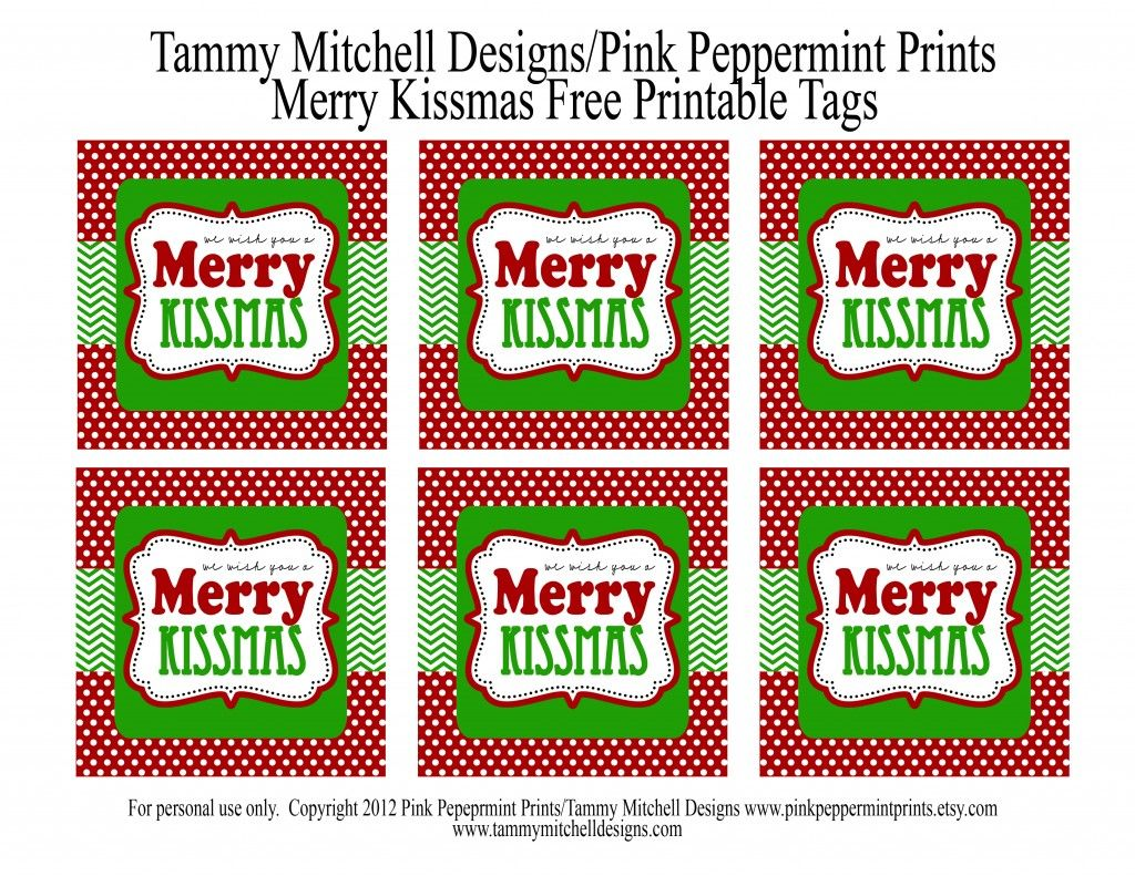 graphic about We Whisk You a Merry Kissmas Printable Tag referred to as FREEBIE: Totally free Printable Xmas Tag: We Want Your self a Merry