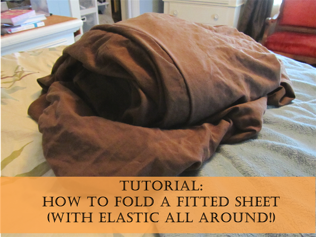 How To Fold Fitted Sheet With Elastic All Around Life Hacks How