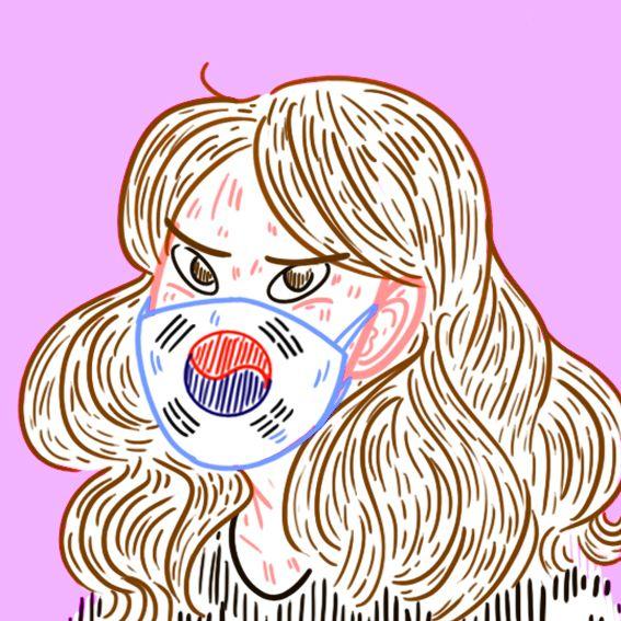 #annabellehanguk #아나밸과대한민국 #프랑스 #여자 #한국 #pink #illustration #korea #flag #mask #draw #dessin #drawing #annabellehanguk #아나밸과대한민국 #프랑스 #로맨스  #한국 #french  #story #draw #webtoon #drawing# illustration #웹툰# 레진코믹스