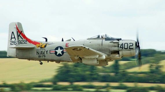 Skyraider | Military Aircraft | Us navy aircraft, Aircraft