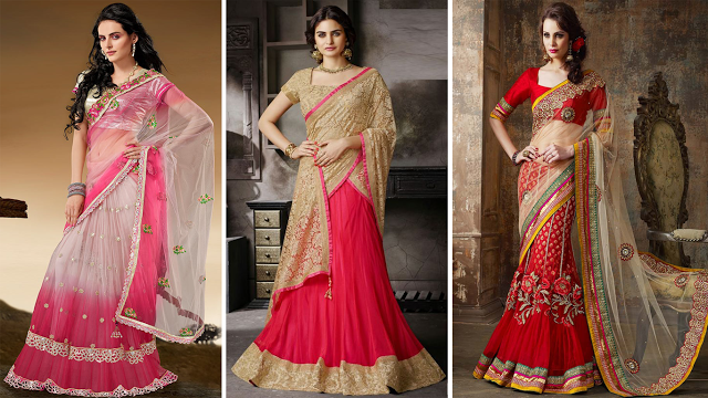 Fashion and you lehenga saree 50