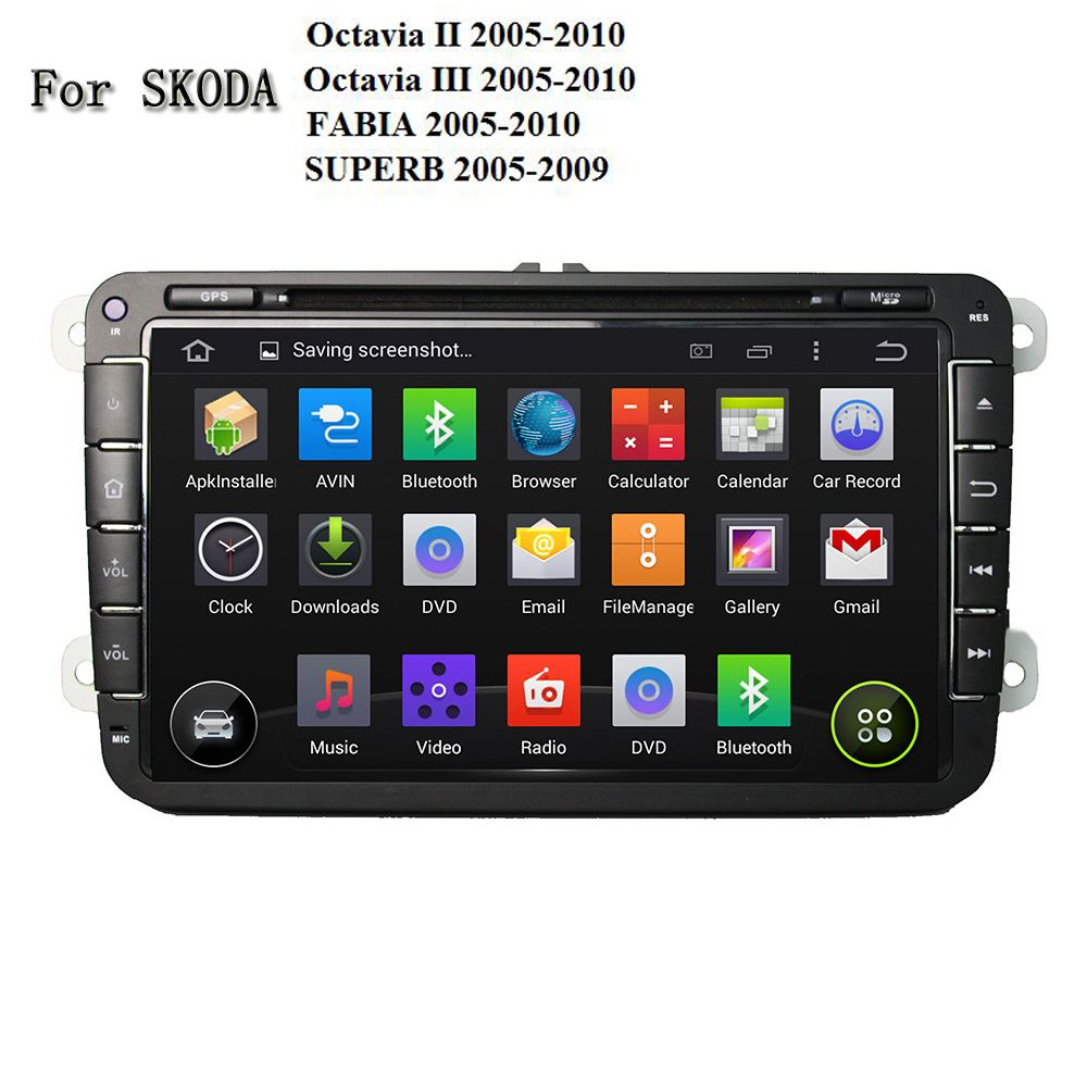 1gb Ram Android 5 1 Car Dvd Multimedia Player For Skoda Octavia