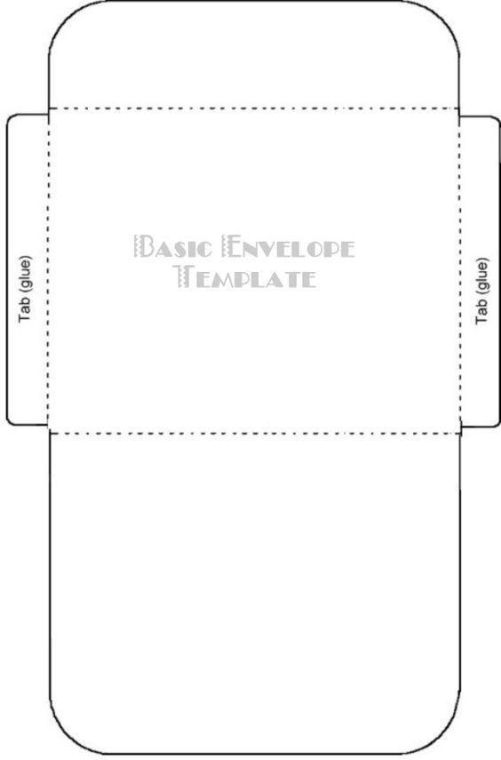 printable envelope template pdf free printable card. Black Bedroom Furniture Sets. Home Design Ideas