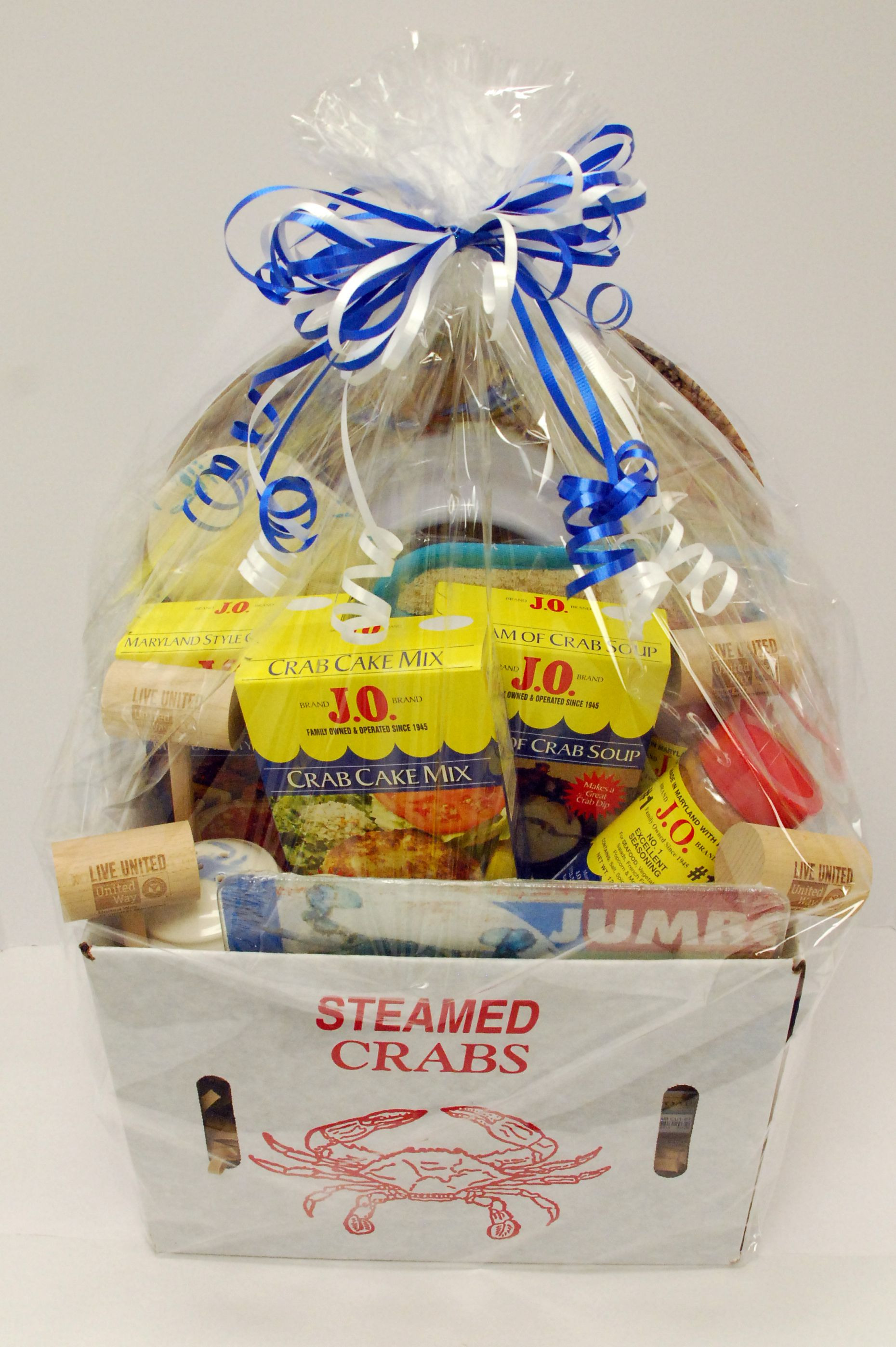 Live United! Check out our J.O. Spice fundraiser gift basket for ...