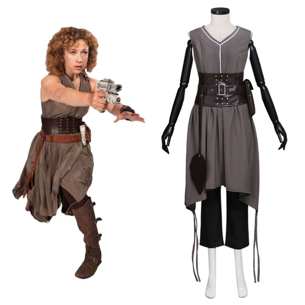 Doctor Who Cosplay Doctor Who River Song Alex Kingston ...