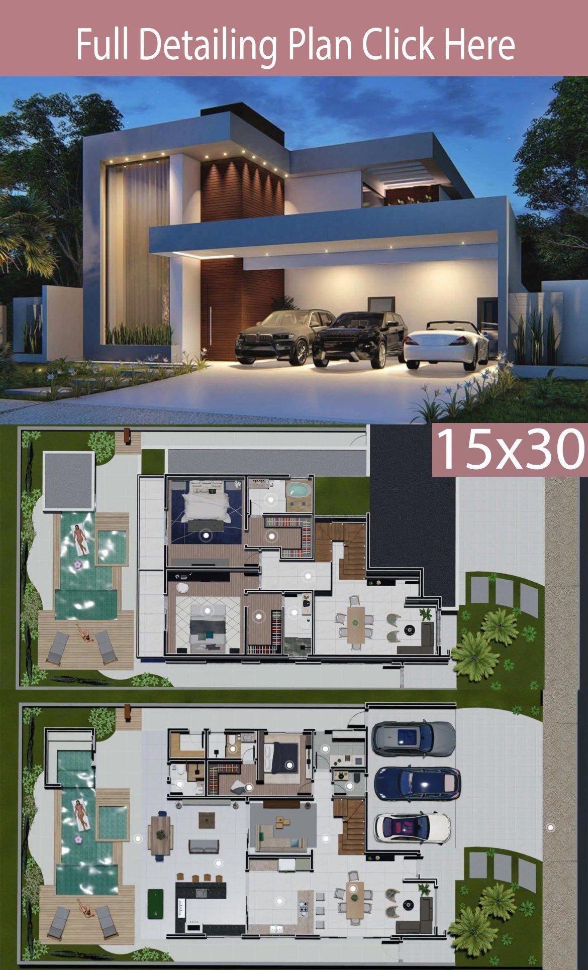 Modern Home Design Photos 2021 In 2020 Home Design Floor Plans Modern House Floor Plans Architectural House Plans