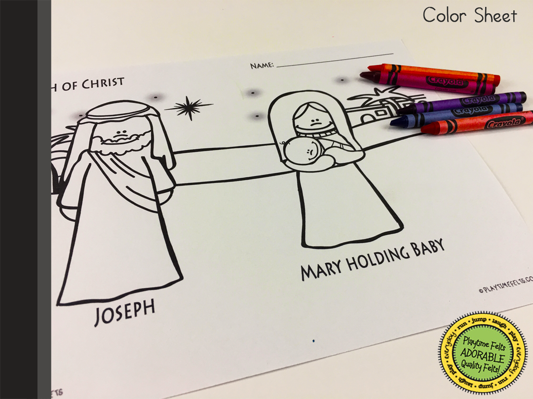 The Birth Of Jesus Digi Download