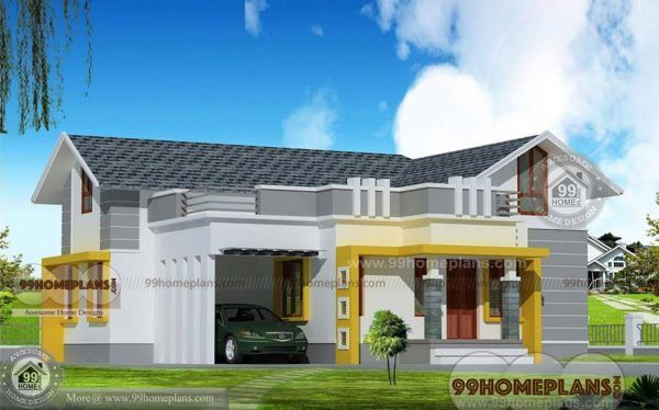 Kerala Veedu Plan Home Elevation House Designs Best Single Story Brick House Plans Kerala House Design House Elevation