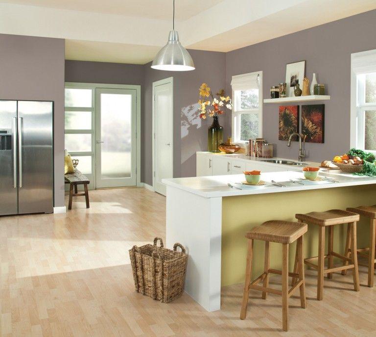 Cocina Gris Pardo Colores De Pinturas De Cocina Cocina Gris Topo Decoracion De Cocina