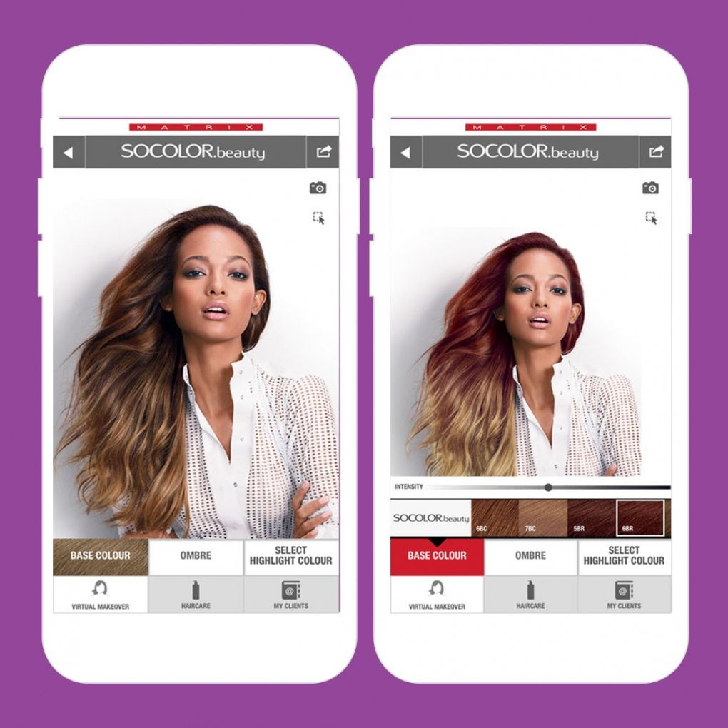 Virtual Hair Color App Best Hair Color For Dark Skin Women Check - Hairstyle color app