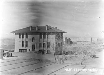 Wilson Hall Agricultural Building Nmsu Campus Location Las Cruces Nm Date C 1921 1925 Agricultural