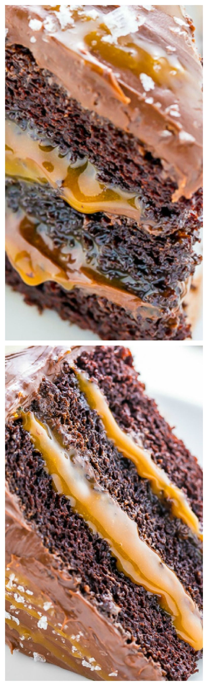 Salted caramel chocolate cake baker by nature recipe