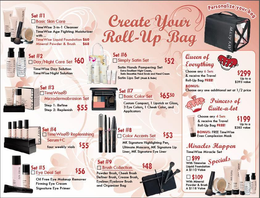 6cacef939399 Mary Kay Travel Roll-Up Bag starting at $99 - $299. Get yours today ...