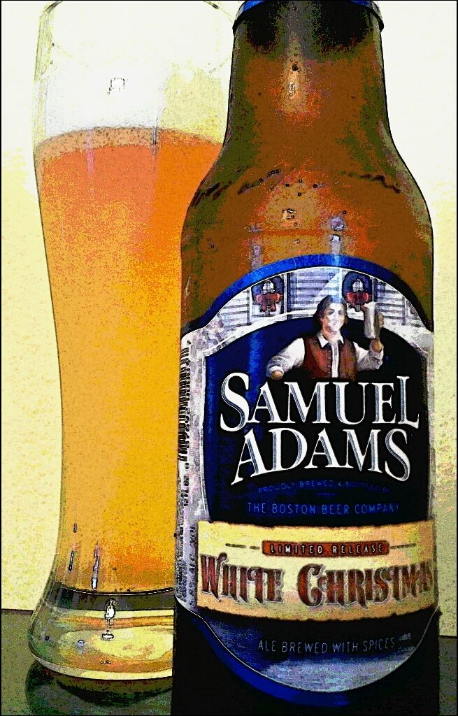 Samuel Adams White Christmas A Xmas Spin On The Witbier Beer