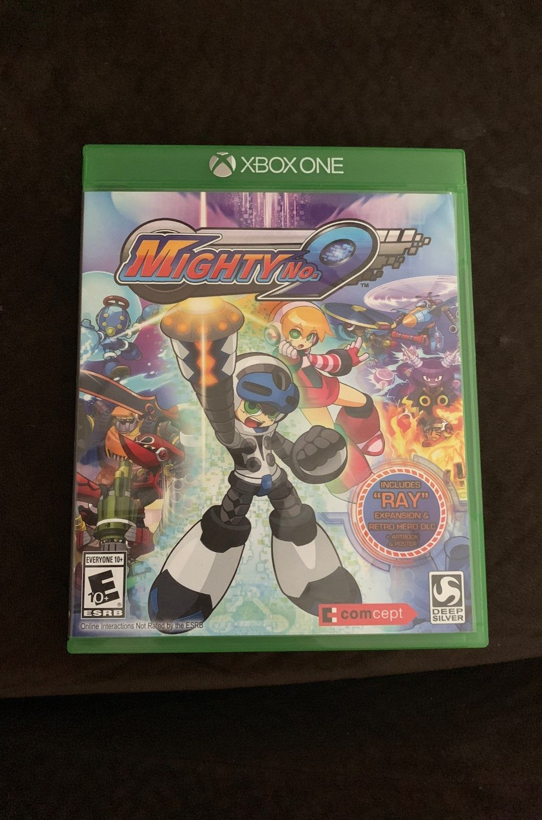 Mighty no9 xbox one used but in good condition xbox one