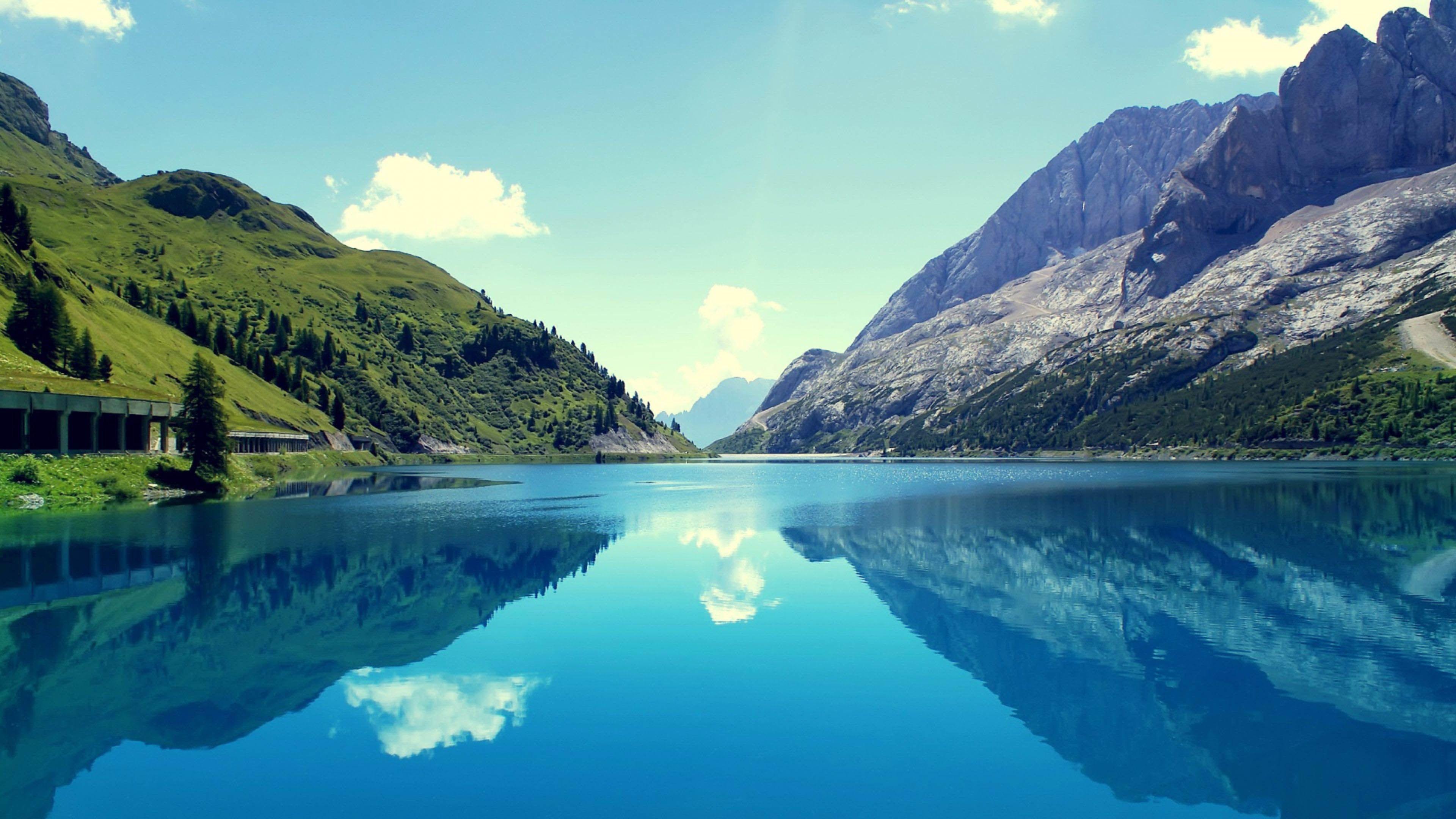 3d 4k Fbb Wallpaper 3840x2160 Nature 4k Beautiful Lake Landscape 3840x2160