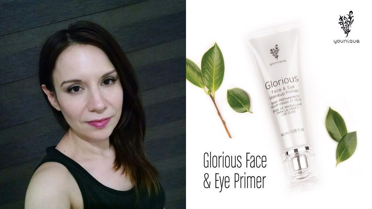 La prebase de maquillaje Gloriuos, excelente para desvanecer imperfecciones y fijar el maquillaje para todo el dia