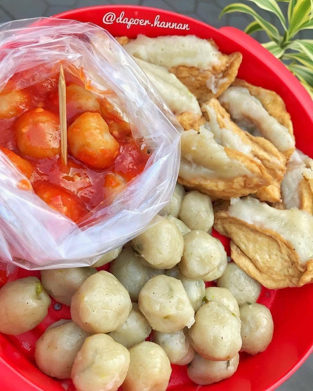 Bakso Kojek Cilok Tahu Aci Saos Pedas By Dapoer Hannan Resep Masakan Resep Resep Masakan Indonesia